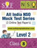 All India NSO Mock Test Series – Level 2 – Class 8