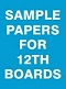 Sample Papers For 12th Boards